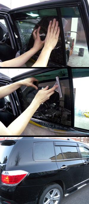 Тонировка авто стекол