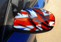АвтоВинил, Shoda Fabia, British flag
