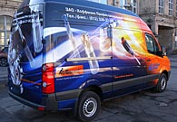 Реклама на транспорте VW Crafter, Hoffmann